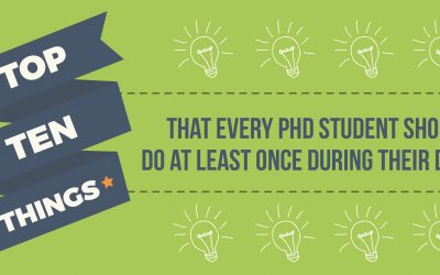 Top Ten Things That Every PhD Student Should Do At Least Once During Their Degree